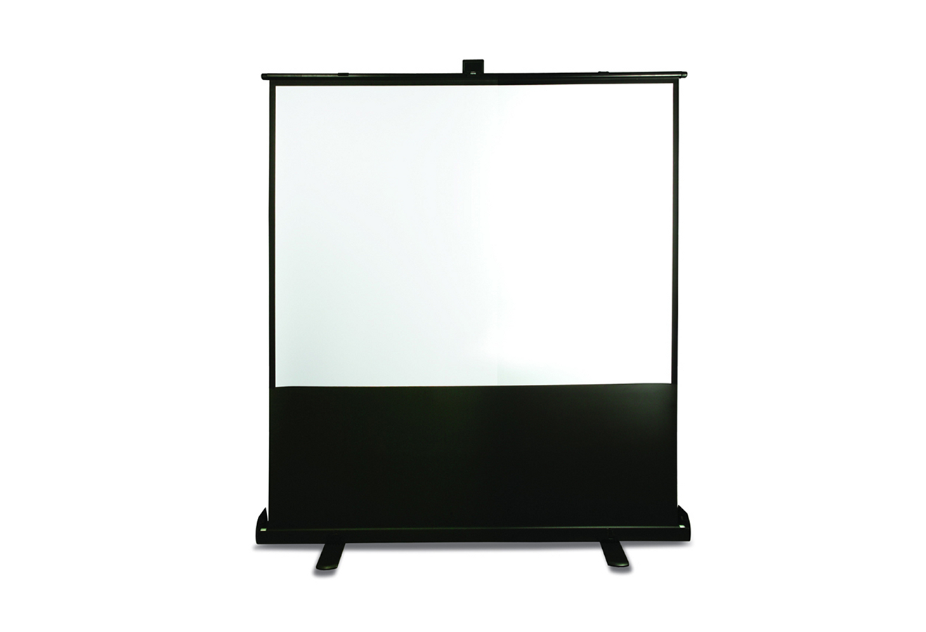 pull up projector screen 5ft hire Code Audio Visual