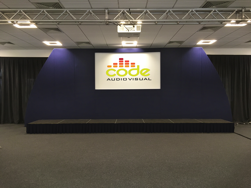 Stage & Rigging Hire - Code Audio Visual