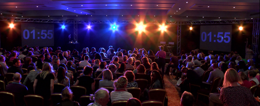 Conference Hilton Hotel Lighting PA Hire
